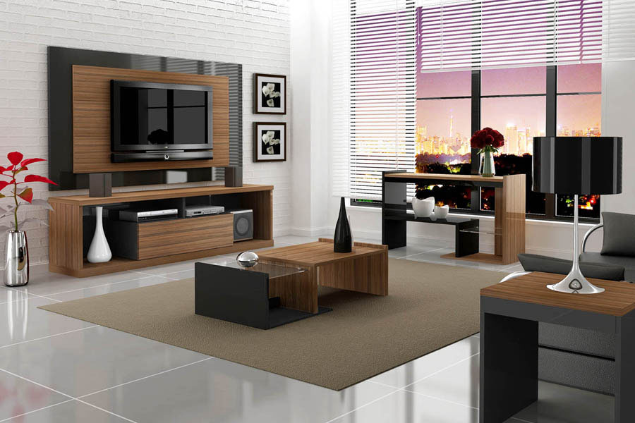 moveis planejados sala de tv pequena